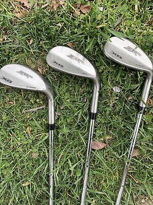 Acer XB Golf D Grind 50 54 58 Wedge Set Men's RH R Flex In Great Shape Must See!
