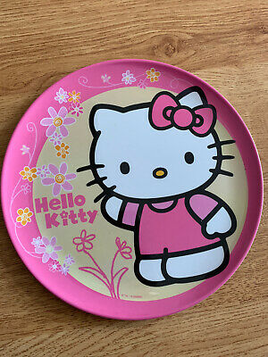 Hello Kitty Melamine Kids Plate - Brand New