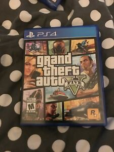GTA 5 PS4 Immaculate Condition