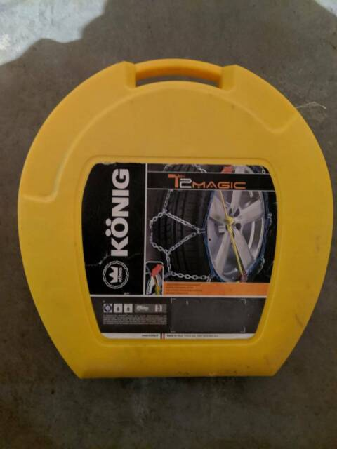 KONIG Snow Chains 090 | Other Parts & Accessories | Gumtree