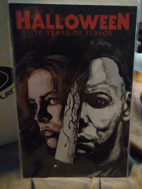 Halloween Comic 30 years of Terror one-shot Masters of horror cover #C unread
