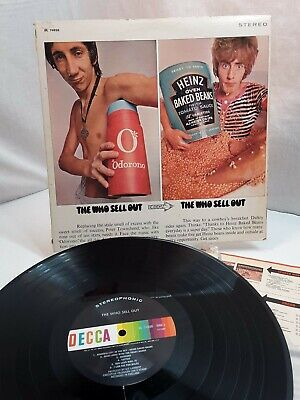 Who Sells Pop Rocks (The Who Sell Out 1968 Decca Vinyl LP Chicago Pressing Power Pop Mod Psych)