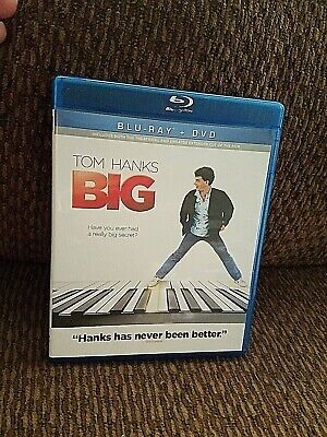 Big (Blu-ray/DVD, 2013, 2-Disc Set, 25th Anniversary Edition) Free Shipping
