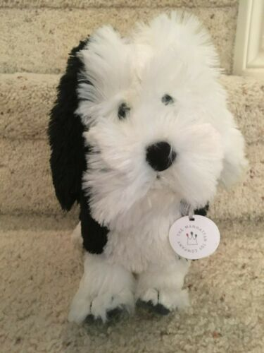 Manhattan Toy 2015 Plush Puppy Playtime Cock-a-Doodle Dog Black White with TAG
