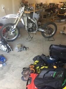 08 yzf 450 complete or part out