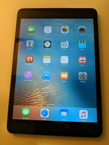 Apple IPad Mini 1st Generation A1432 16GB Wi-Fi Black/Slate Condition Great - $62.00