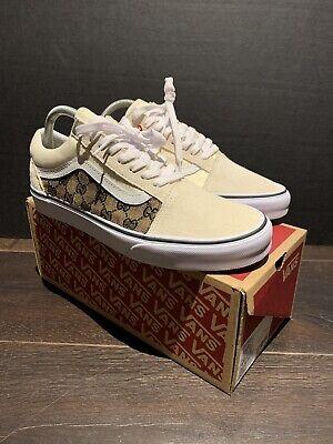 Gucci Vans Old Skool Custom Handmade. Any Size And Color Deadstock Og Rare Vtg