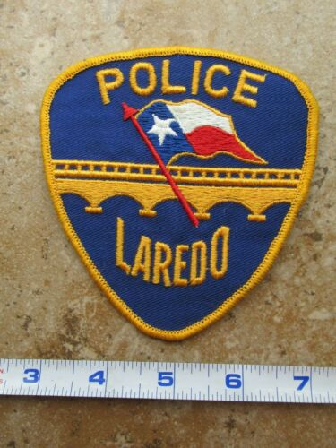 OBSOLETE Vintage State of Texas Laredo Police Department Shoulder Patch