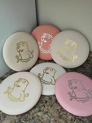 Pinkish White Perry Bible Fellowship Pbf  Crazy  Gopher Flying Disc Golf Putter