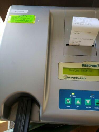 Arkay Hypoguard DiaScreen 50 Urine Chemistry Analyzer