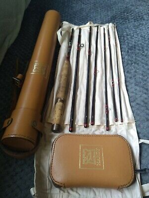 7 peace Hardy deluxe Smugglers #6 250cm length with fly case.