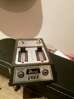 Vintage ibanez standard fuzz  Nerang Gold Coast West Preview