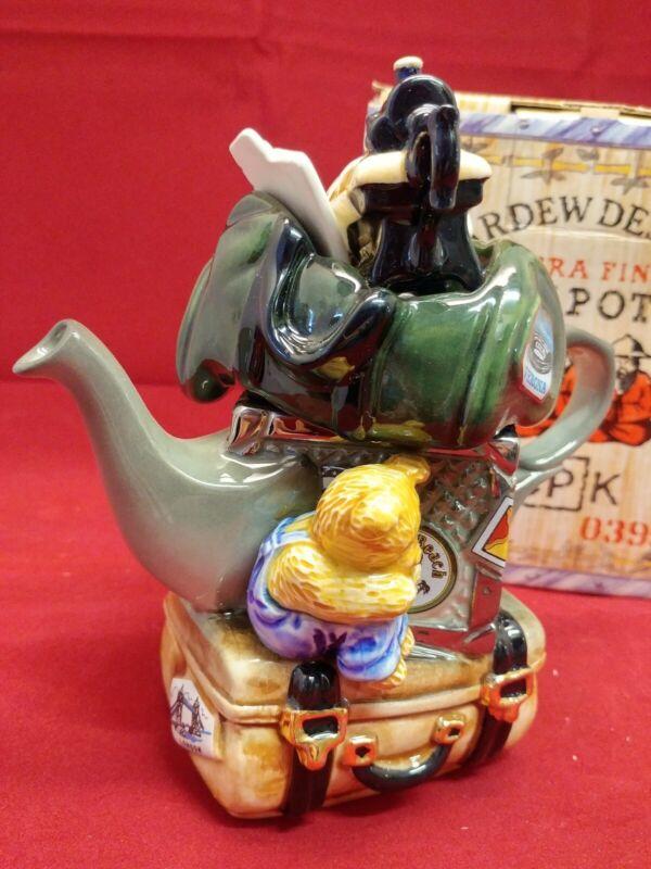Cardew Design Tiny Teapots British Made TRAVELERS RETURN