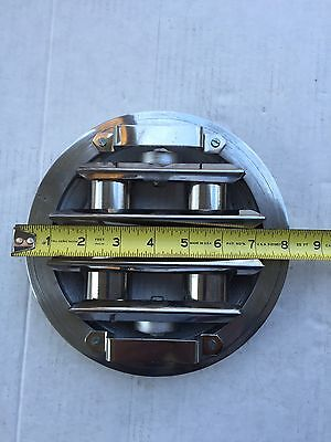 8 Round Industrial Material Hopper Magnetic Grate New