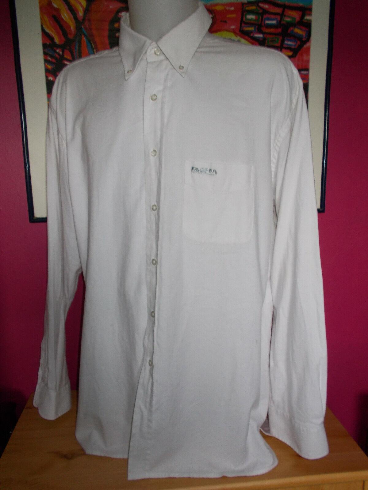 Chemise coton blanc  manche longue mise au green xxxl 47/48