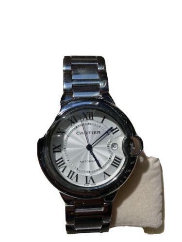 Cartier Ballon Bleu w6920100 Wrist Watch for Women older USED Ladies Estate Sale
