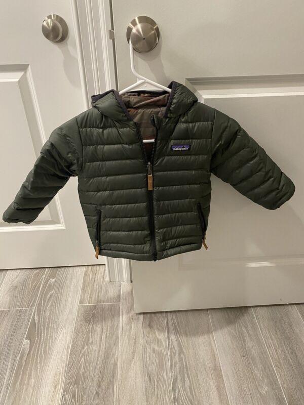 Patagonia Reversible Baby Down Sweater Hoody 3T