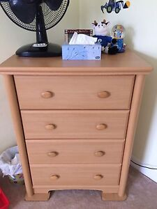 Dresser and change table