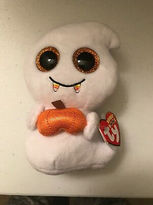TY Beanie Boo's   6 Inch Scream the Ghost Halloween Special Edition - Boo Halloween Special