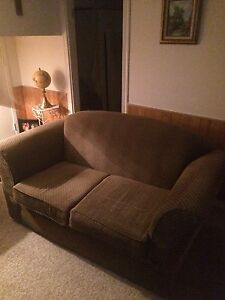 Brown couch in great condition for sale!