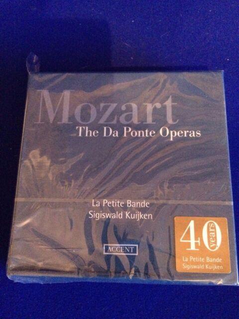 NEW Wolfgang Amadeus Mozart - Mozart: The Da Ponte Operas (2012)