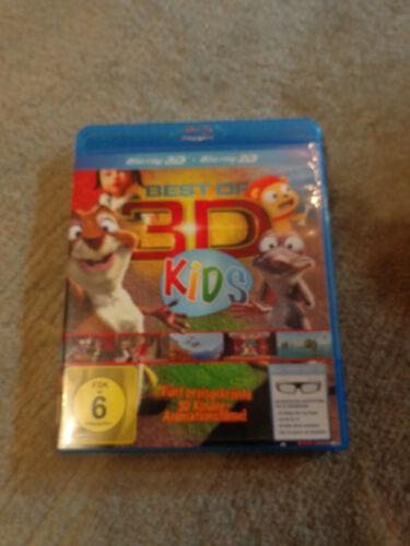 Blue Ray 3D Best of 3D Kids FSK 6 Fünf Filme Box in 3D Selten