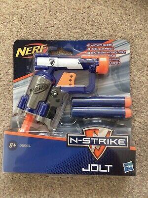 Nerf N-Strike Elite Jolt Soft Dart Gun Blaster BRAND NEW