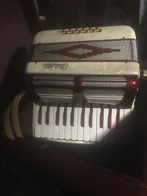 Candy Red Marotta Student Accordion