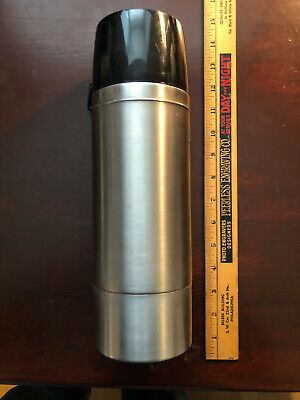 THERMOS VINTAGE THERMOS BRAND STAINLESS STEEL THERMOS - 1 LITER MODEL 2464