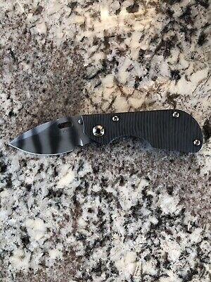 New Authentic Mick Strider Custom Knives Model DC - Brand New Model