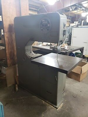 Do -all Vertical Bandsaw Band Saw 36 Model Zv-36 004am