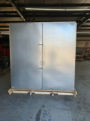 8x8x30 Gas Powder Coating Batch Oven  Free Shipping