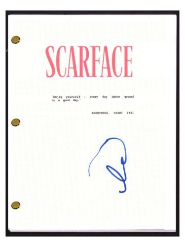 Al Pacino Signed Autographed SCARFACE Movie Script Screenplay COA