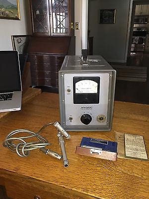 Micrometrical Profilometer Type Qa Amplimeter Microinches Model 741