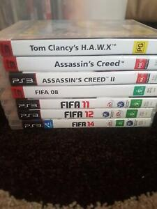7 PS3 games, Playstation 3 game (s)