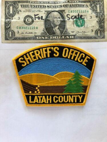 Latah County Idaho Police Patch (Sheriff