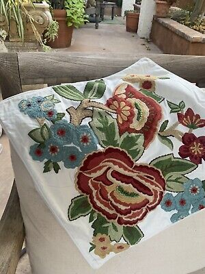 pottery barn pillow cover  12 x  12