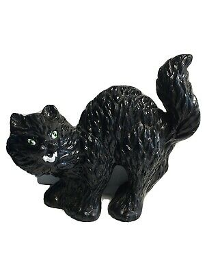 VINTAGE Halloween Ceramic Mold BLACK CAT