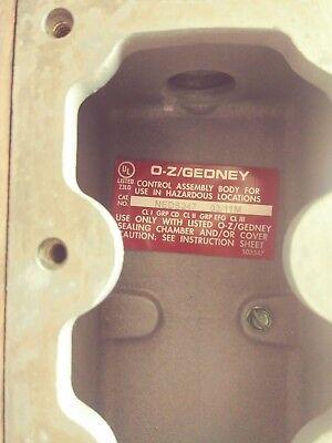 Egs Appleton O-zgedney Neds247 Enclosure For Circuit Breaker New No Box
