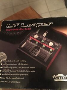 Vox 'lil looper. Perfect condition