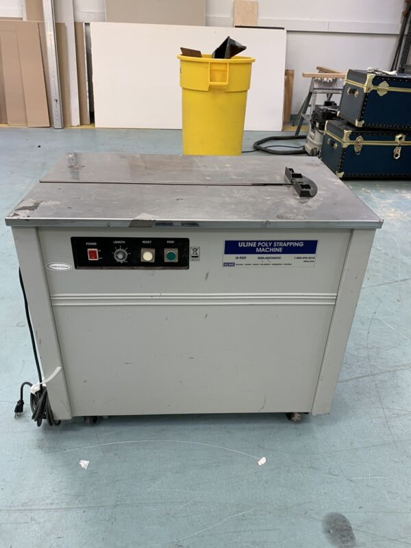 Uline Poly Strapping Machine H-959