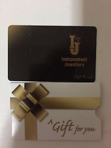 $200 gift card indepent jewellers for 175