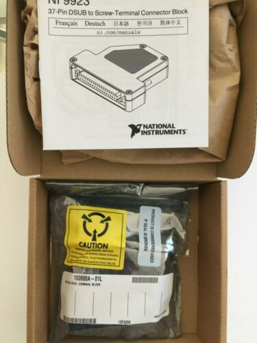 NEW National Instruments NI 9223 Front Mount Screw Terminal Block 781503-01