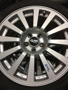 JDM BBS Wheels 5x100 17x7JJ