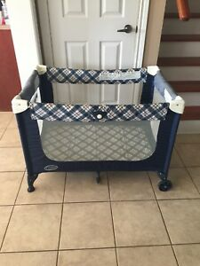 Graco Playpen Blue