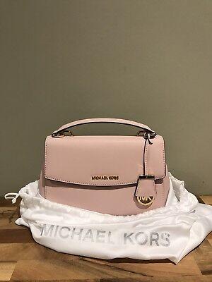 Michael Kors Ava In Blossom Pink Crossbody Handbag