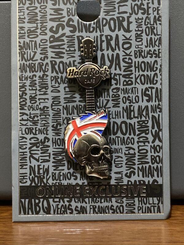 Hard Rock Cafe London Skull Pin
