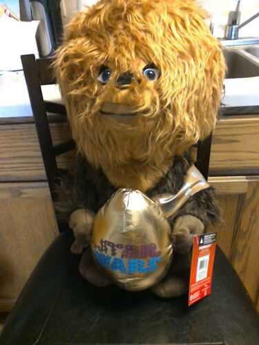 """STAR WARS Collectible Chewbacca Door Greeter 21"""" Easter Spring"""