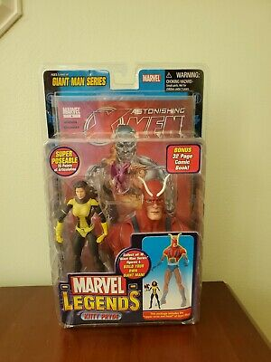 Marvel Legends Giant Man Series KITTY PRYDE Toy Biz 2006 NIP Upper Torso & Head