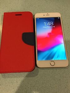 iPhone 6Plus Factory Unlocked With Wallet case & Charger
